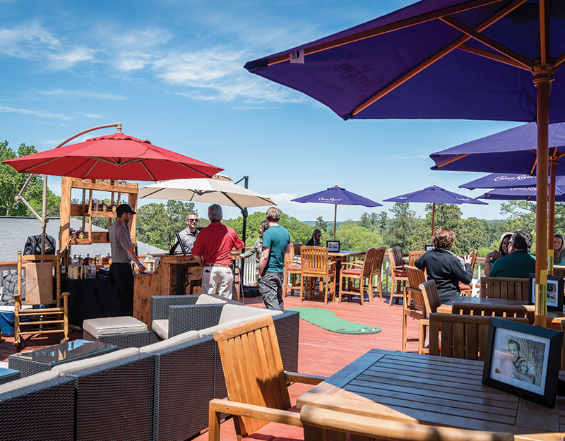 Indulge in the creature comforts - The 1018 Club Masters Hospitality